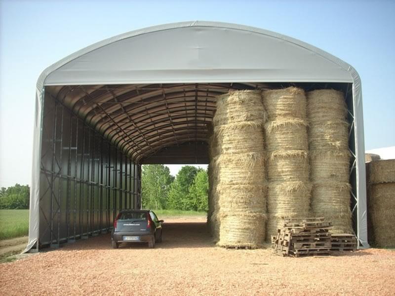 Tunnel gambe dritte tunnel gambe a terra uso agricolo for Capannoni prefabbricati usati in ferro
