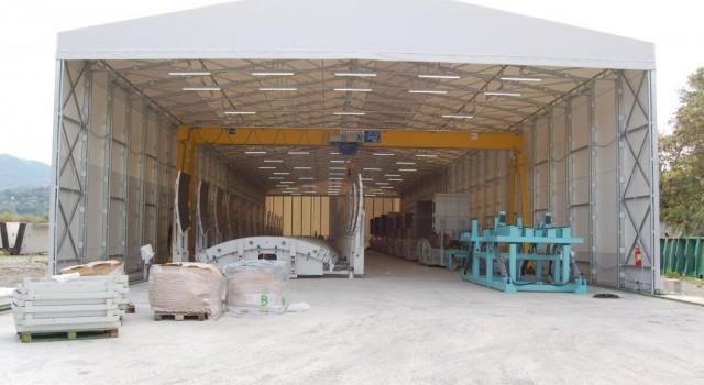 Capannone autoportante 15x20x4 3 300 metri quadri cod for Capannone di 300 metri quadrati